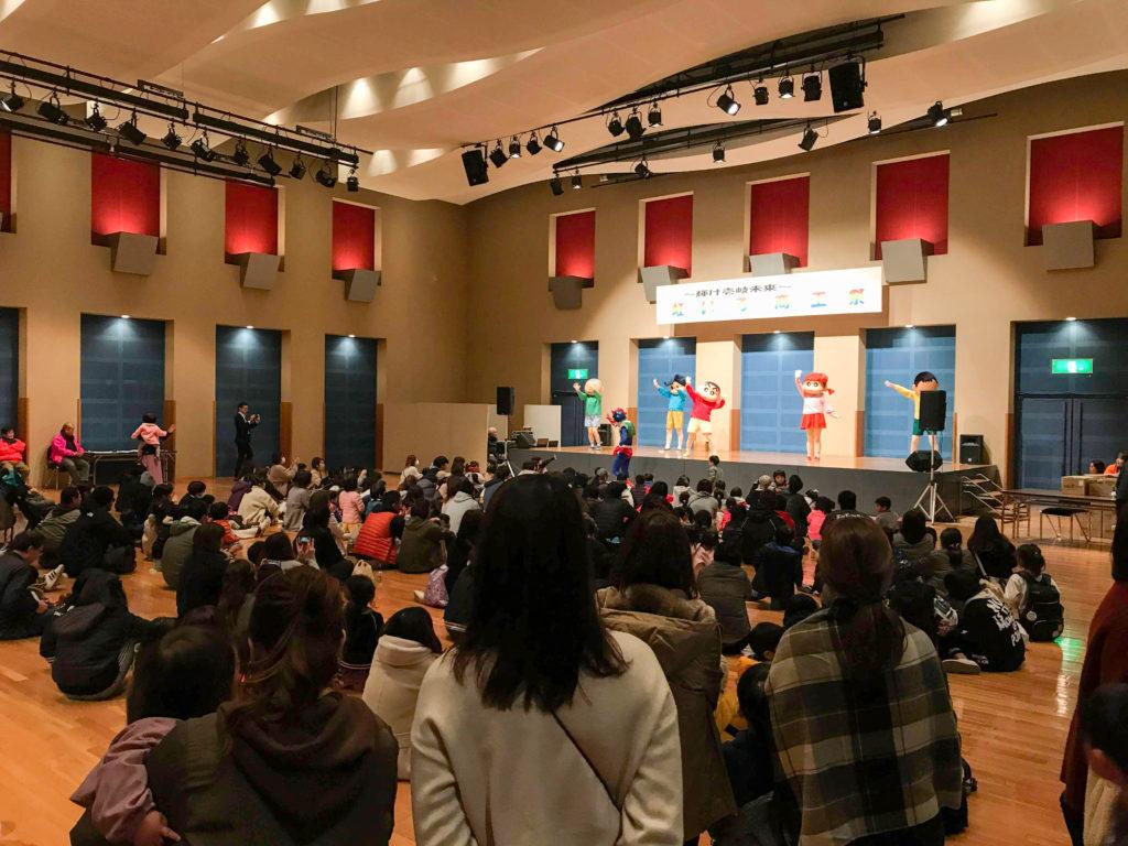 クレヨンしんちゃんショー 長崎県壱岐島
