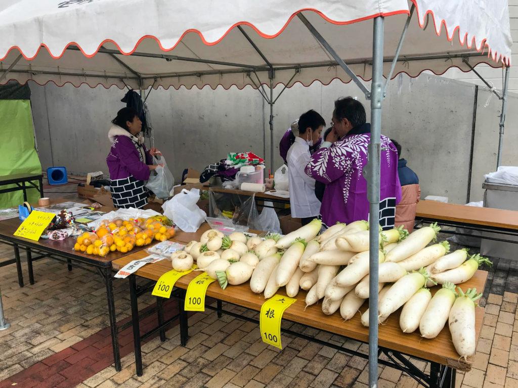 農協出展ブース 虹色商工祭