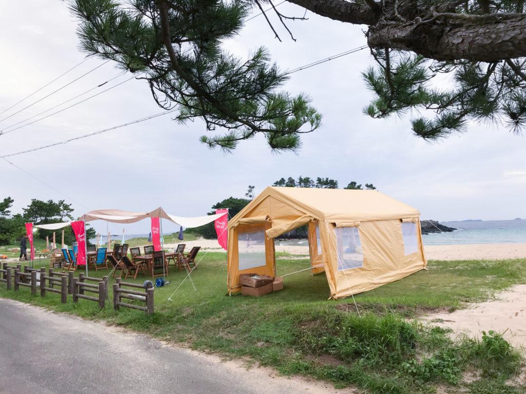 壱岐島砂浜会 ビーチパーティー体験 長崎県壱岐島