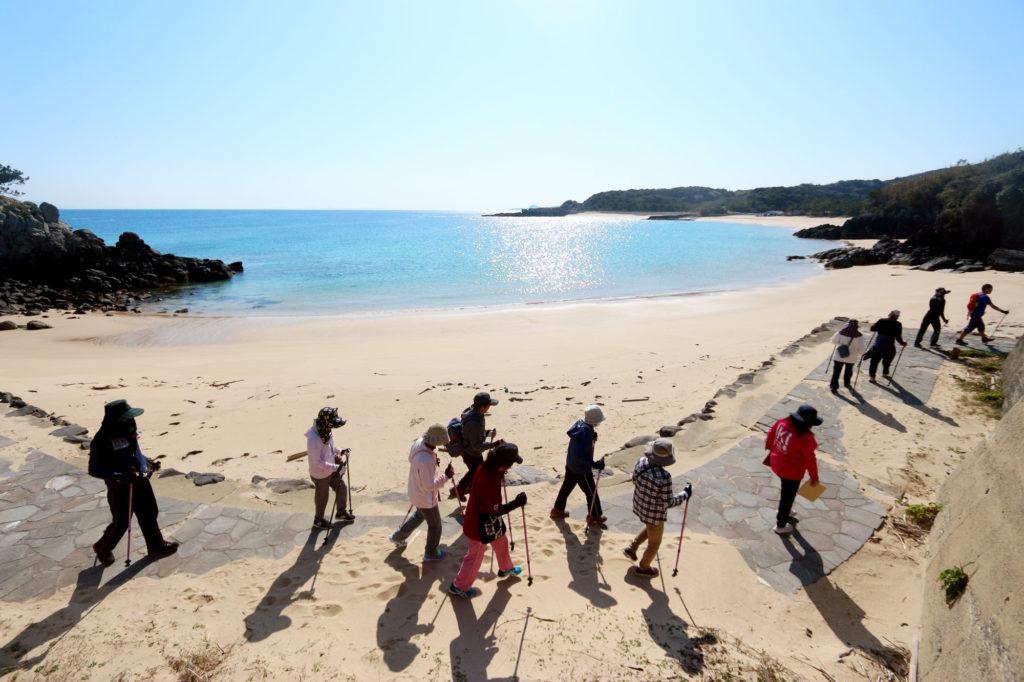 砂浜さんぽ 砂浜散歩 壱岐島砂浜会