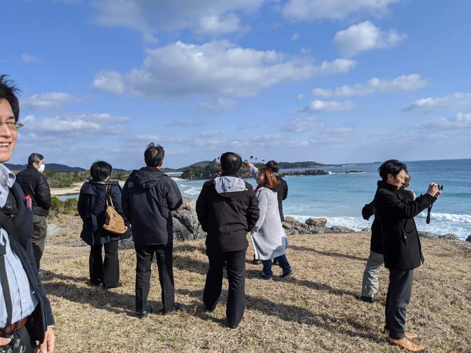 五島列島おもてなし協議会から、壱岐島に視察